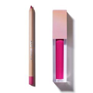Birthday Kiss Semi Matte Lipstick & Lip Liner